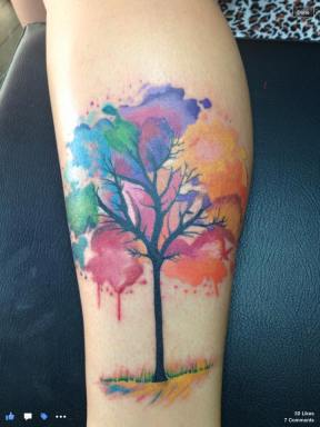 tattoo watercolor
